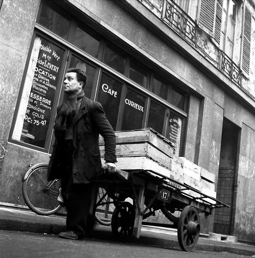 1953. Кафе «Curieux», дьявольское местечко