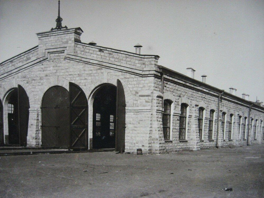 08. Паровозное депо на станции Челкар