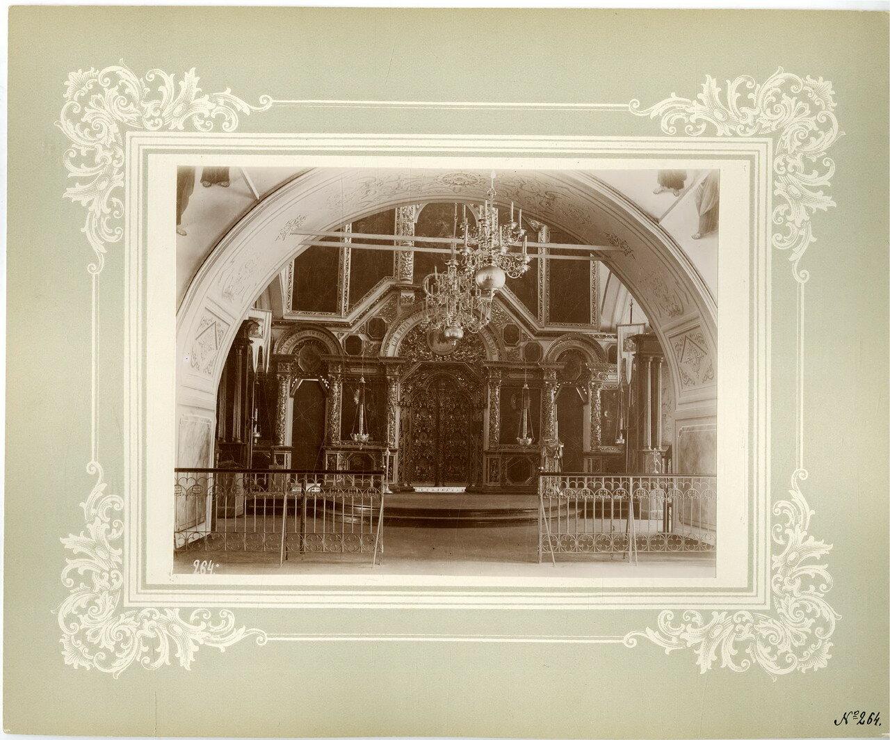 18. Благовещенская церковь, иконостас верхнего Успенского придела