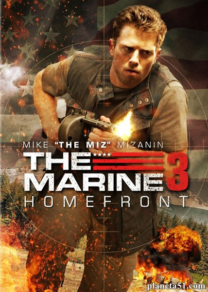 Морской пехотинец: Тыл / The Marine 3: Homefront (2012/BDRip/HDRip)