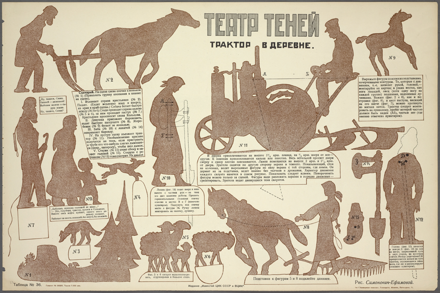 How to make an undoubtedly thrilling and action-packed shadow play called Tractor in the Village 1925.jpg