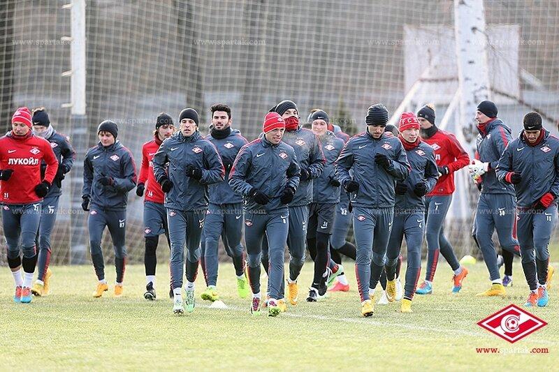 Спартаковцы готовятся к матчу с «Локомотивом» (Фото)