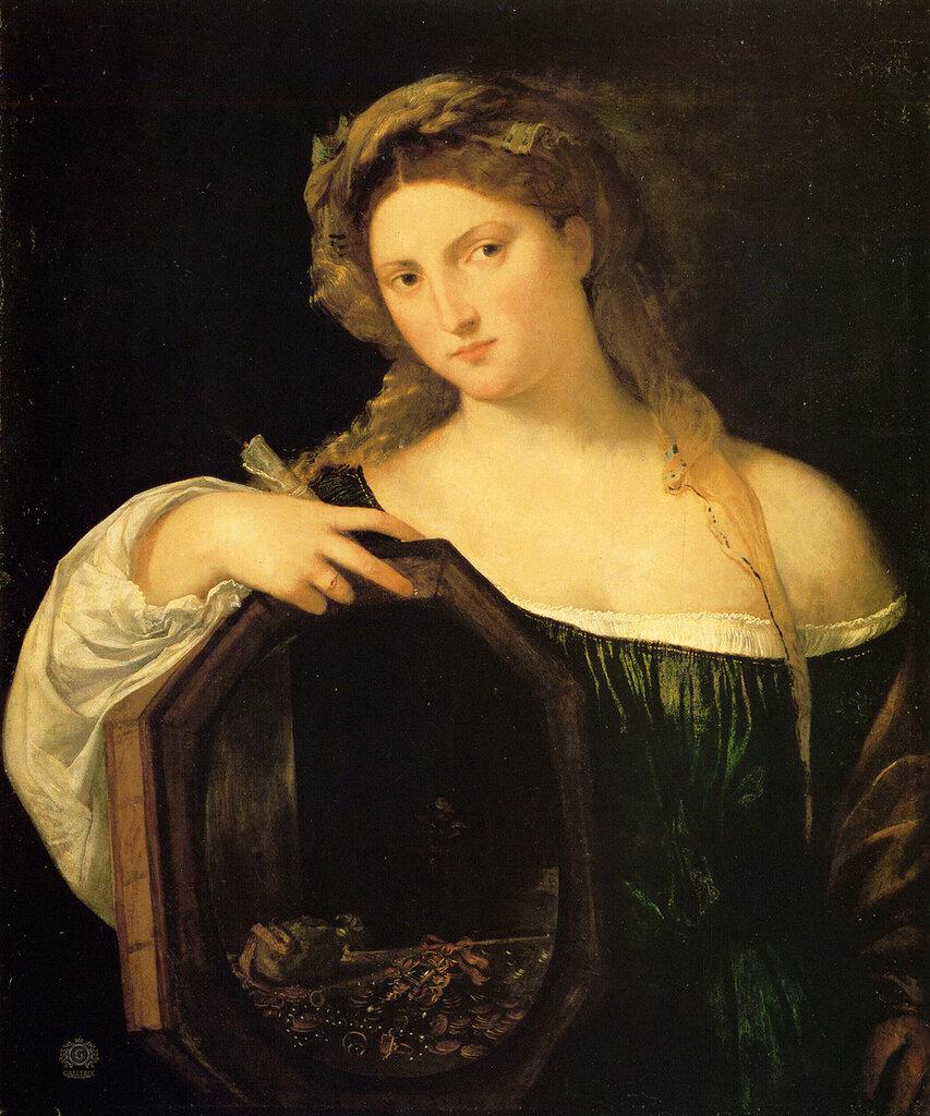 ������ (������� ��������): Titian Profane Love or Vanity 1514 15