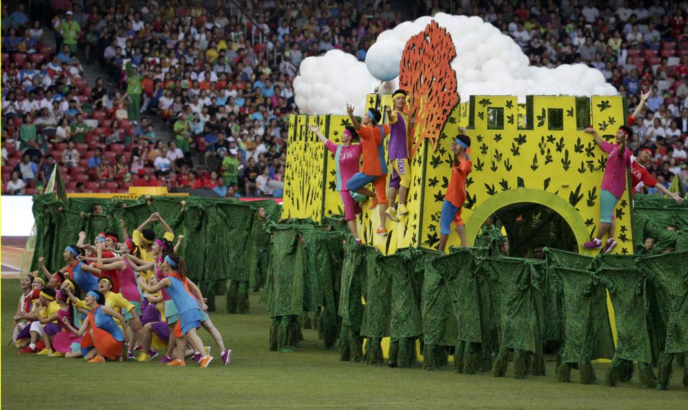 Красивые фотографии открытия XV чемпионата легкой атлетики в Пекине 0 13ff4c 4325379b orig