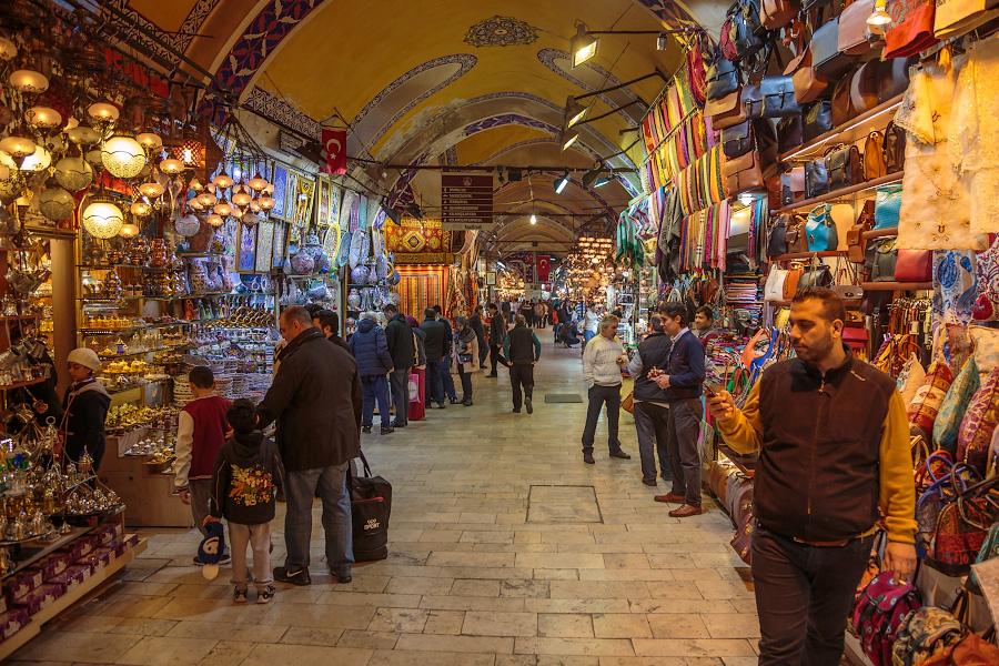 Стамбульский Гранд Базар (или