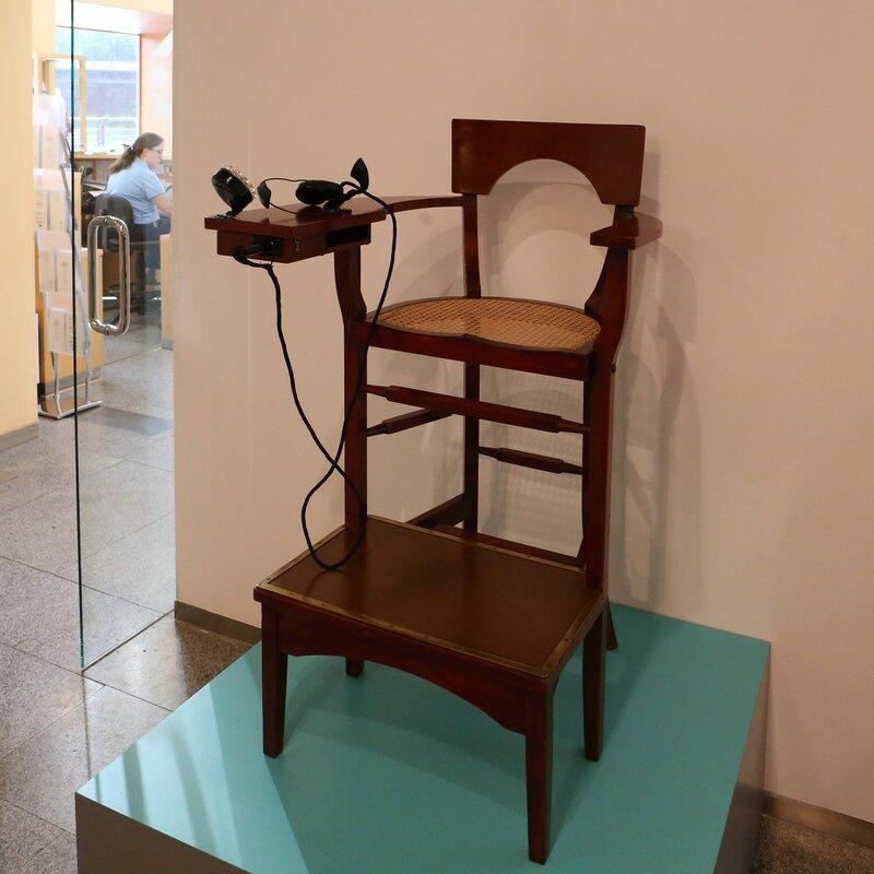 Экспозиция 'История телефонной связи' (Дом науки в Логроньо)