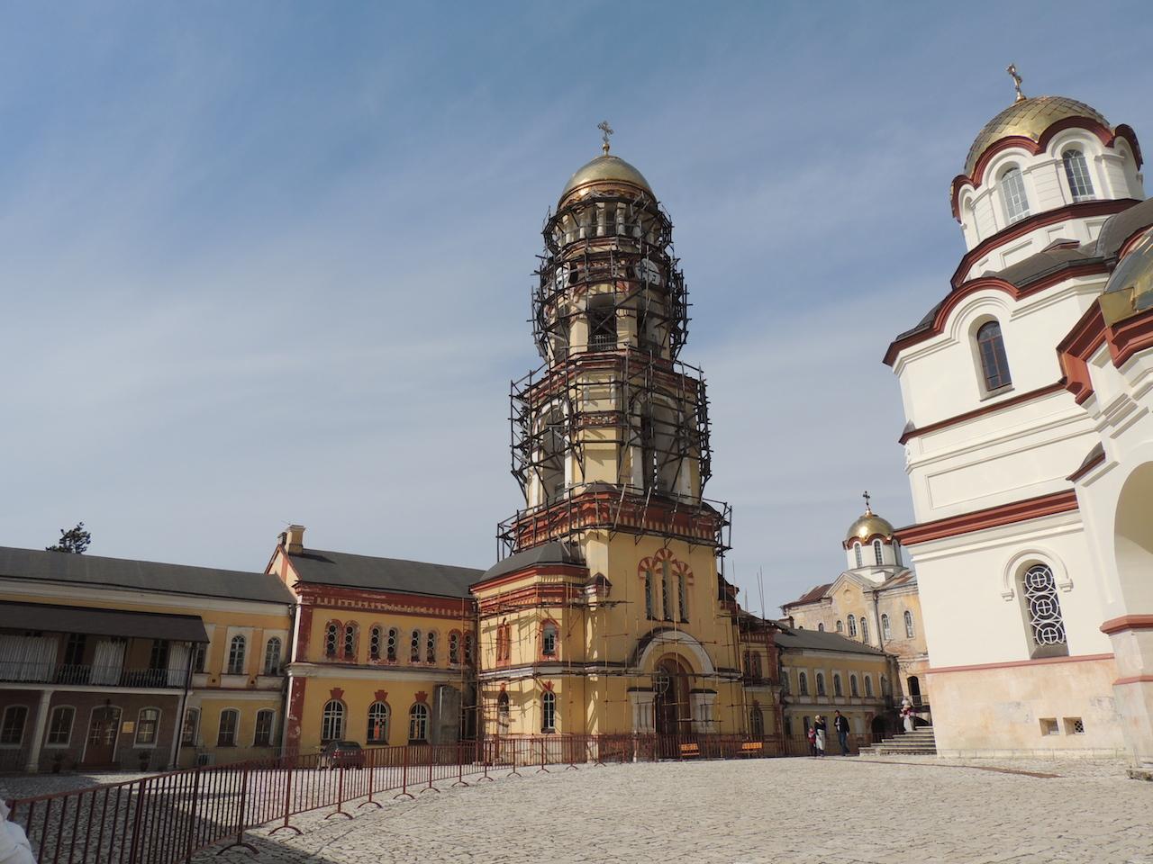 Абхазия Новоафонский монастырь Симона Кананита 14 марта 2015 г., 15-44., 15-44.JPG