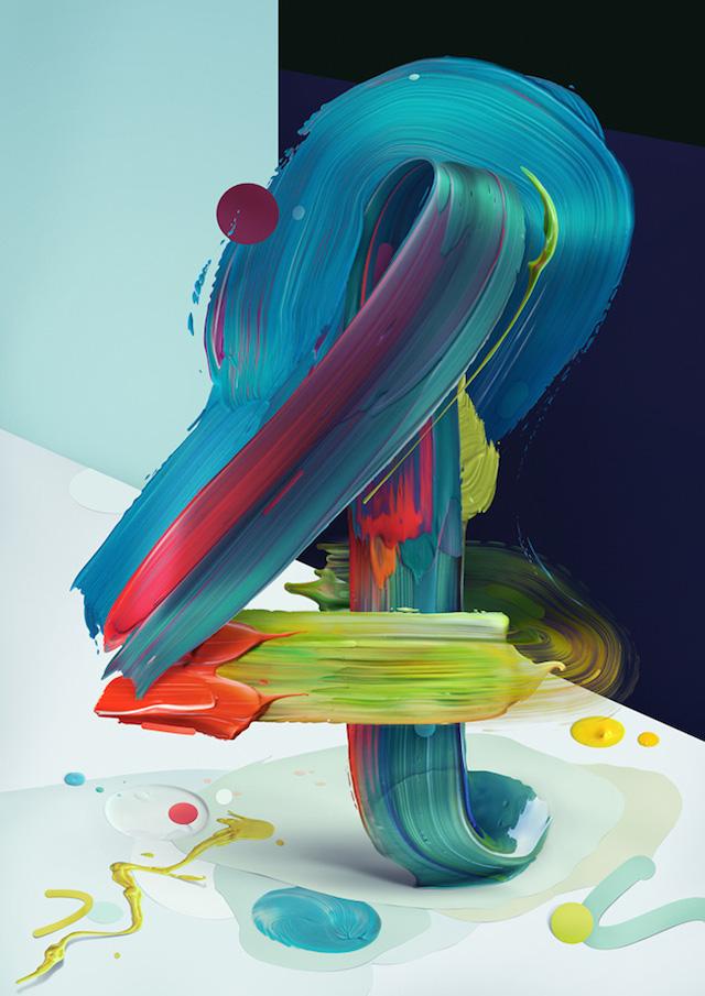 Псевдо 3D рисунки, нарисованные масляными красками