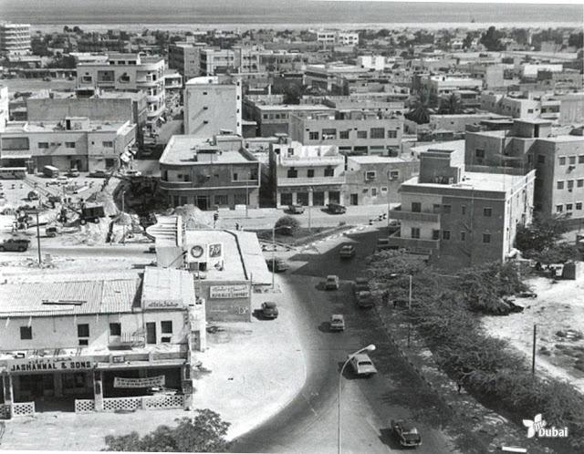 Первый магазин Jashanmal в Дубаи. 1956г.