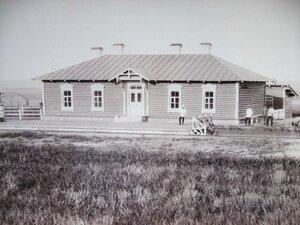 Путевая казарма на посту Роковая