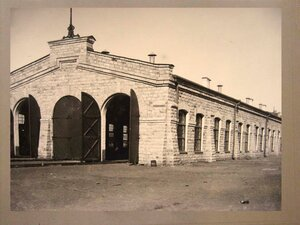 Паровозное депо на станции Челкар
