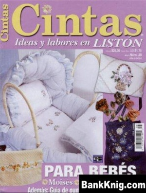 Cintas Ideas y Labores en liston N38 - Вышивка лентами jpg 6Мб