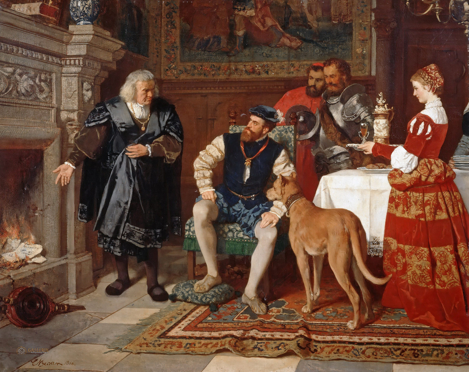 1 Carl Ludwig Friedrich Becker    Jakob Fugger Burns the Notes of Charles V.jpg