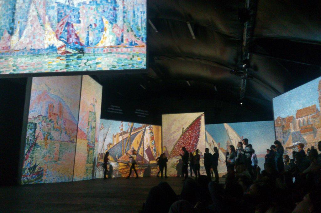 2015.04.04 - Москва. ArtPlay. Французские импрессионисты от Моне до Сезанна. Экспозиция. Фрагмент 9