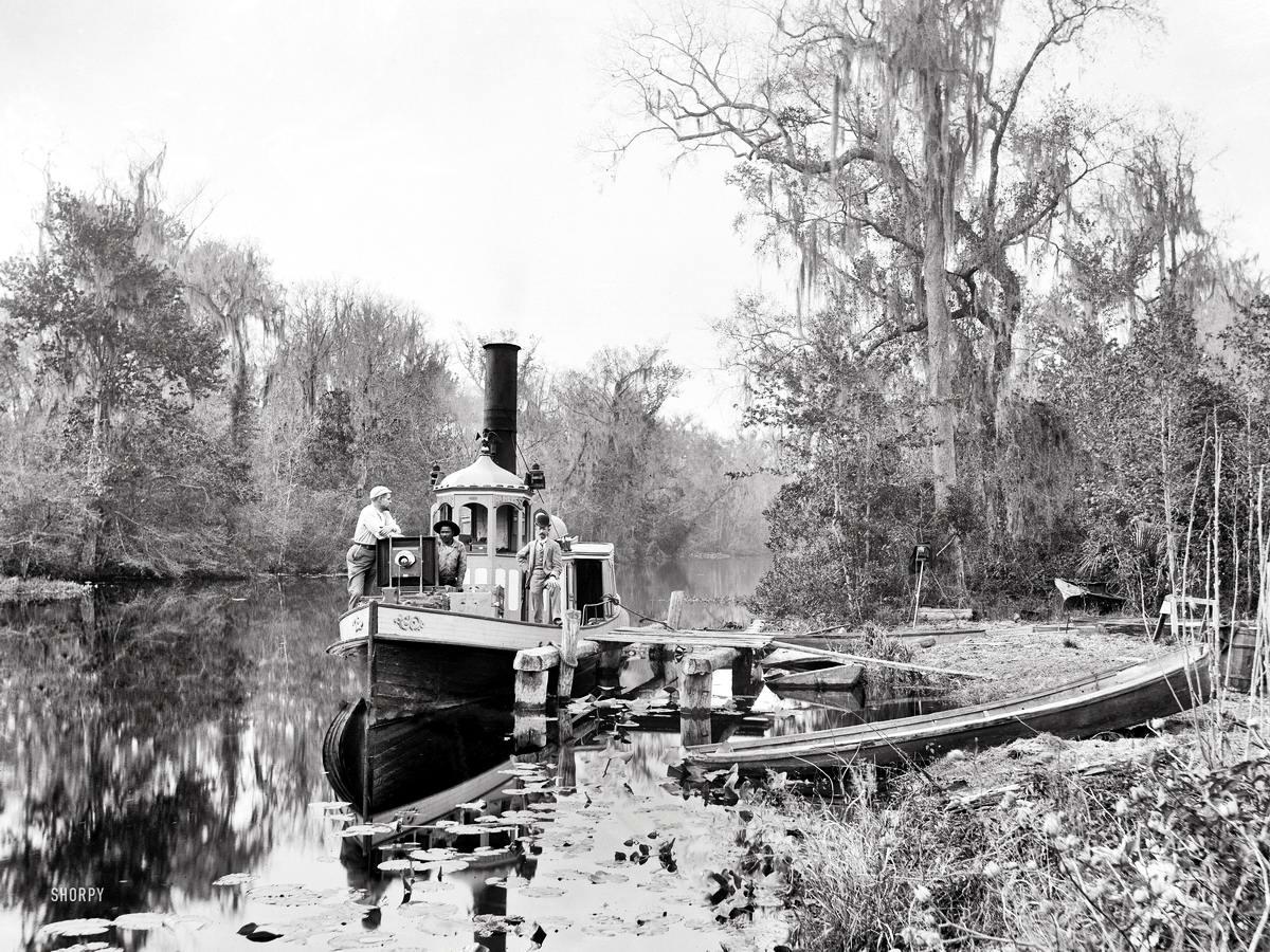 Корабли, речные суда и военные моряки на снимках американских фотографов конца 19 века (10)