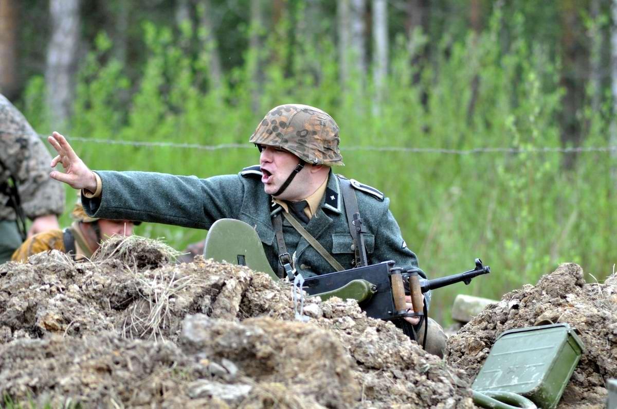 Забавные моменты из жизни военных реконструкторов (120)