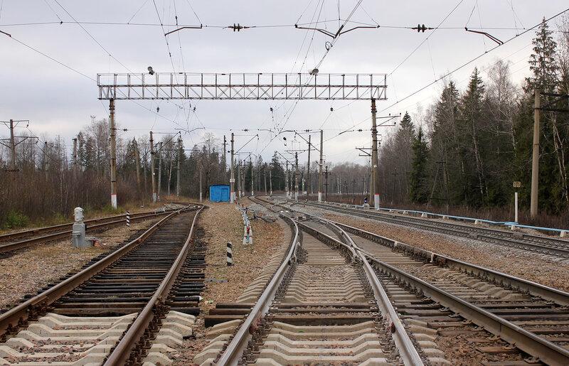 Чисмена на Волоколамск, столб 105 км