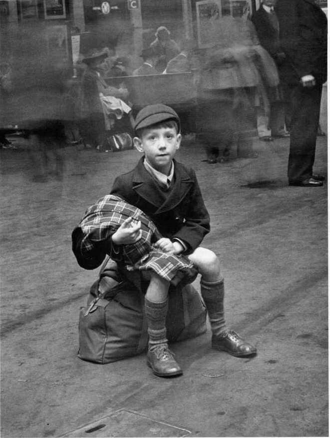 1950. Лондонский школьник
