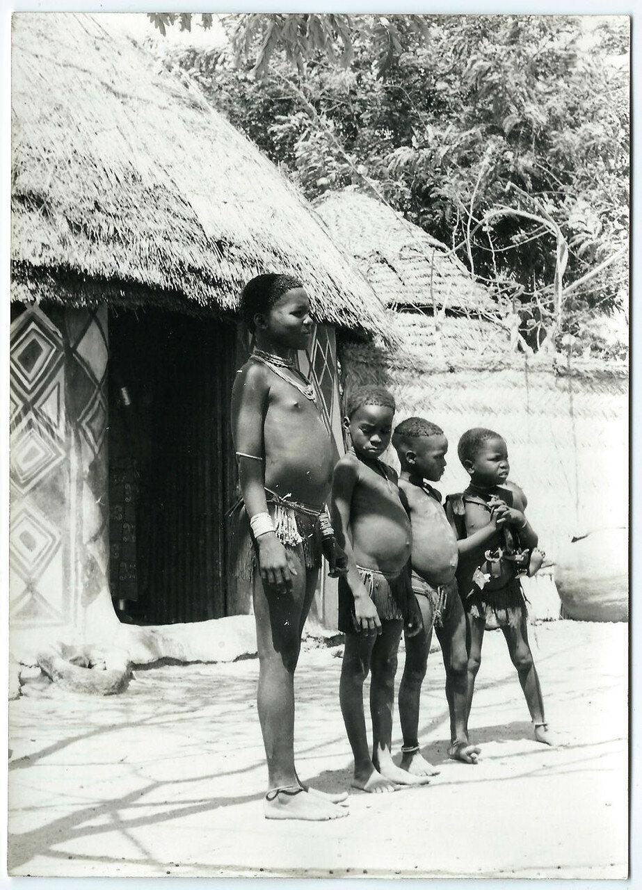 1960. Центральная Африка