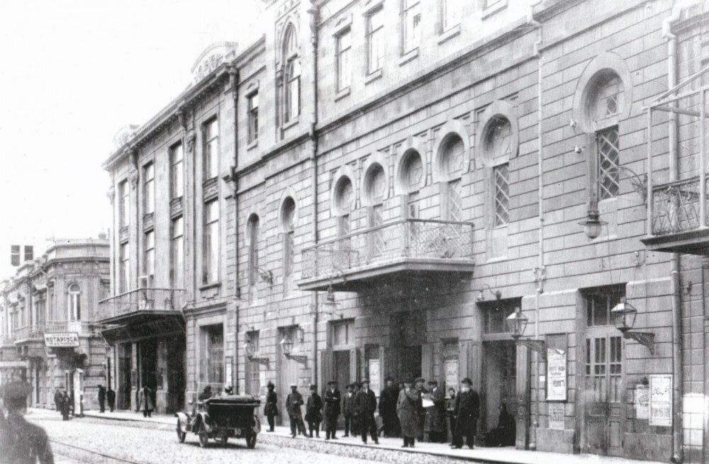 Театр Тагиева на Меркурьевской улице
