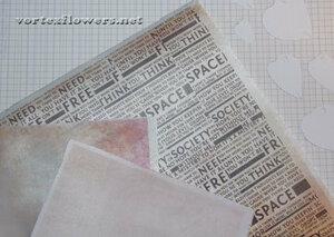 Мастер-класс. Роза  с газетным принтом «Lady Print» от Vortex  0_fc10c_884fd8b0_M