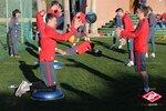 Тренировка Спартака на сборе в Испании