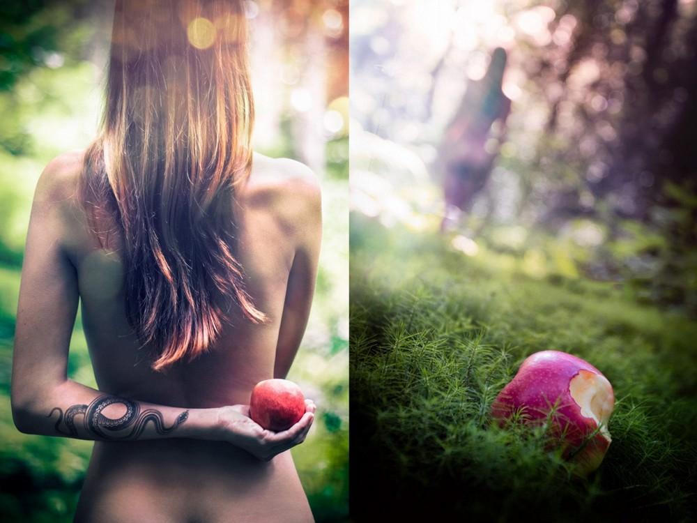 Фотопроект Себастьена Барриоля «Ева в раю»