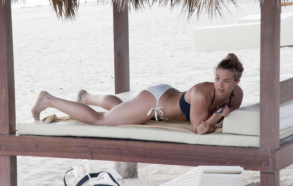Джемма Аткинсон во время отдыха на Кубе