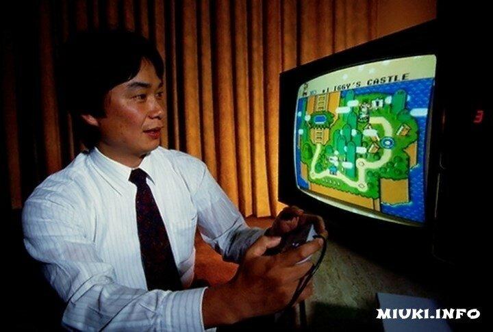 Шигеру Миамото и Супер Марио