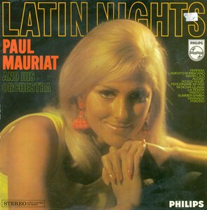 Paul Mauriat And His Orchestra ‎– Latin Nights (1968) [Philips, 844 731 BY]
