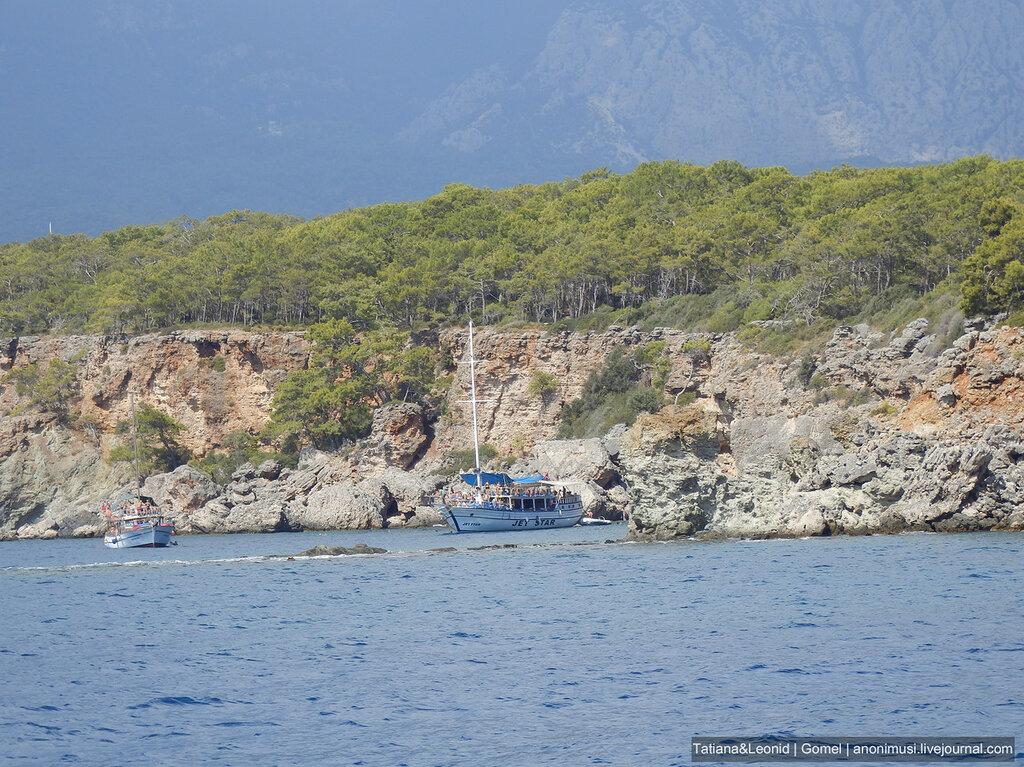 Райская бухта в Чамьюва. Турция