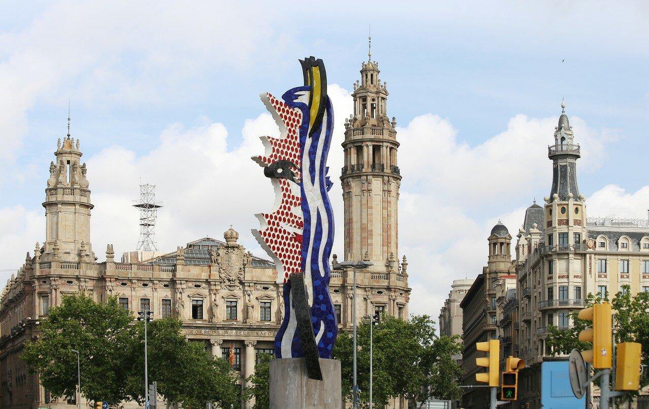 Monument 'Head of Barcelona' (La Cara de Barcelona)