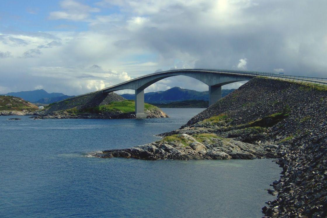атлантическая дорога в норвегии фото юзеры предположили, что