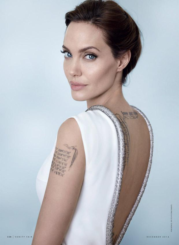Анджелина Джоли (Angelina Jolie) в журнале Vanity Fair