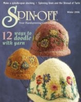Книга Spin-Off Winter 12 Ways to Doodle with Yarn №4 2006 jpg  62,74Мб