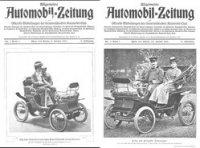 Allgemeine Automobil-Zeitung №1-4 (январь 1901).