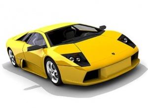 Книга Урок по созданию Lamborghini Murcielago в 3dmax