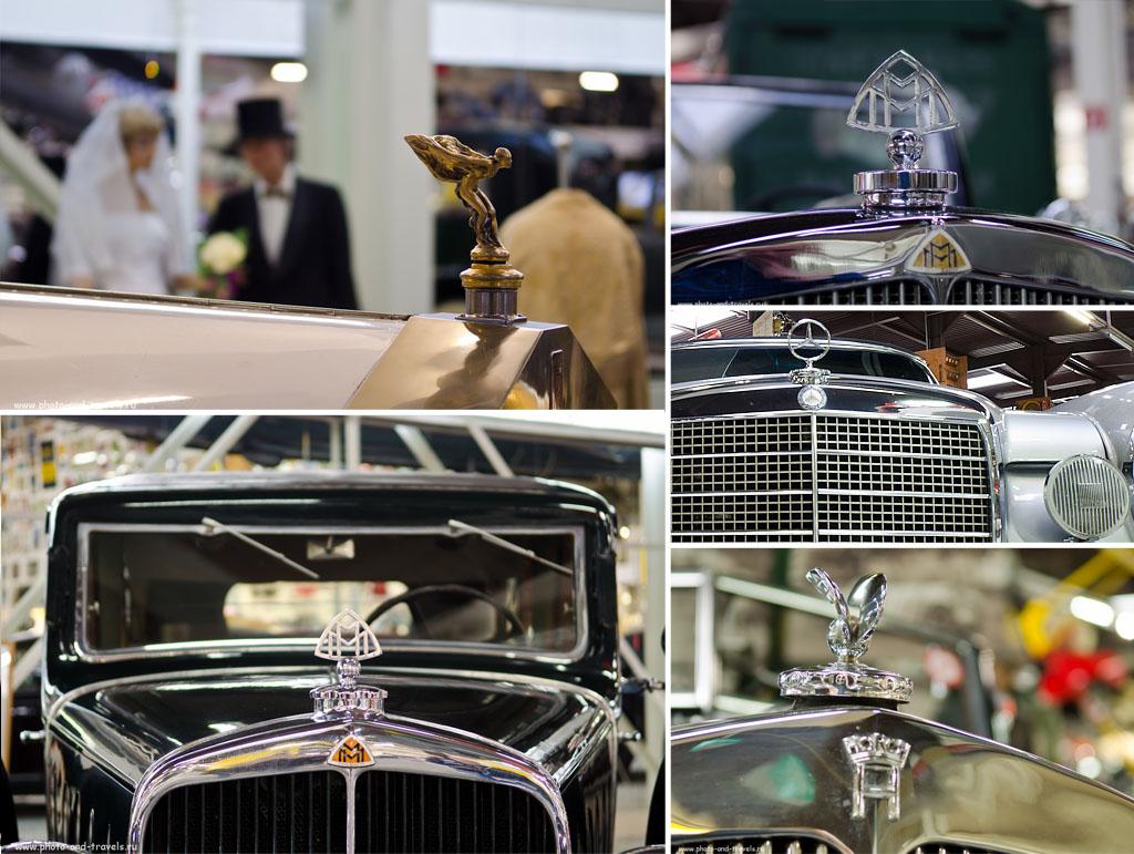 5. Мерседесы, Майбахи, Ролс-Ройсы и другие легендарные марки автомобилей представлены в музее техники Зинсхайм