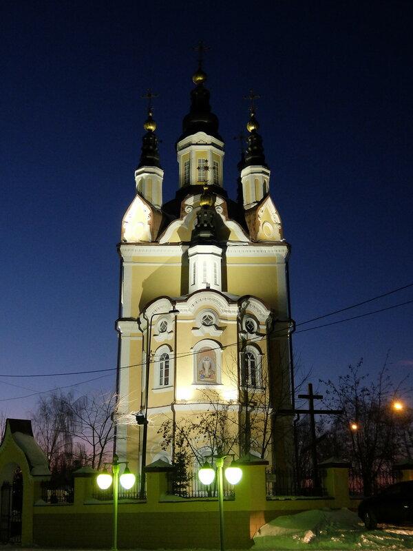 Томск - Воскресенский собор
