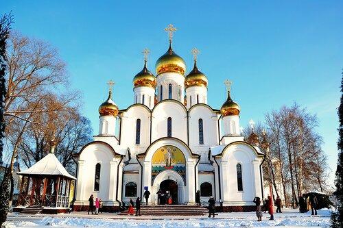 Никольский собор в Свято-Никольском женском монастыре в Переславле-Залесском