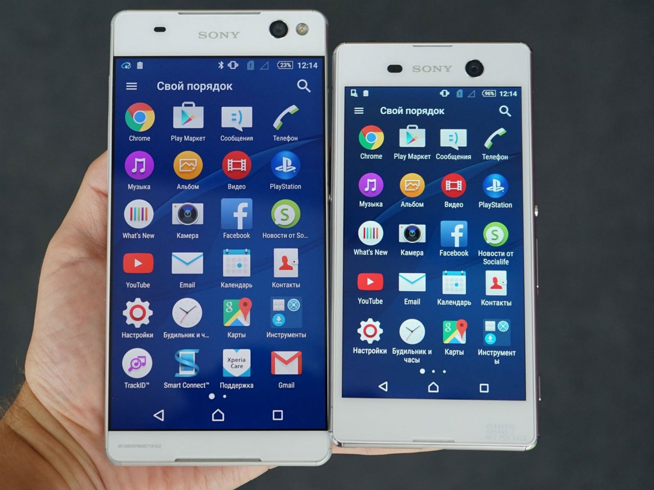 Sony Xperia M5 и C5 Ultra