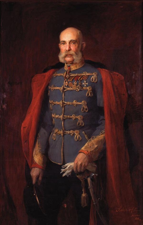 Портрет Франца Иосифа I Австрии