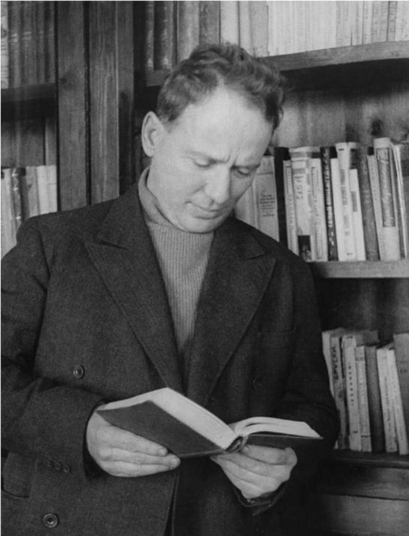 1965. Писатель Михаил Шолохов