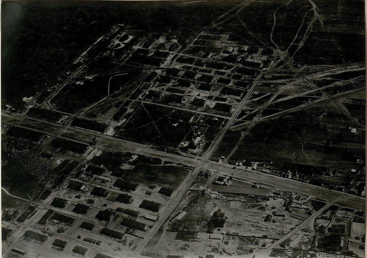 Аэрофотосъёмка города(14/IV.1918)