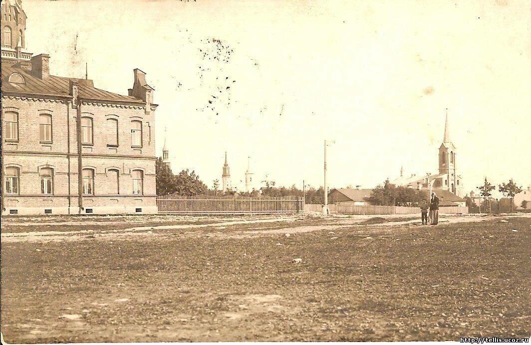 Вид на Старый город с северо-запада