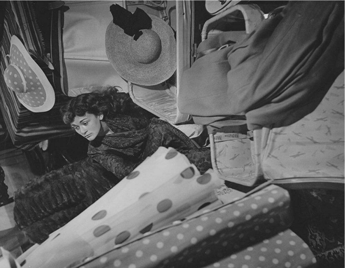 1950-е. Даниэль Делорм (1926 ) - французская актриса