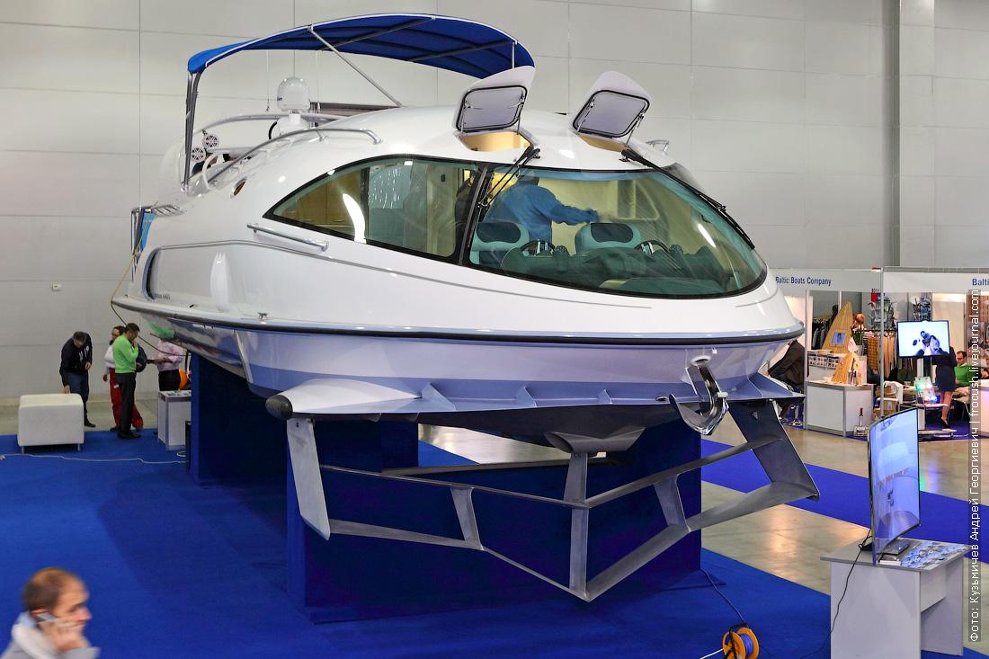 московское боут шоу крокус экспо моторная яхта на подводных крыльях
