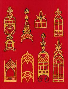 Вологодская роспись Шекснинская золоченка