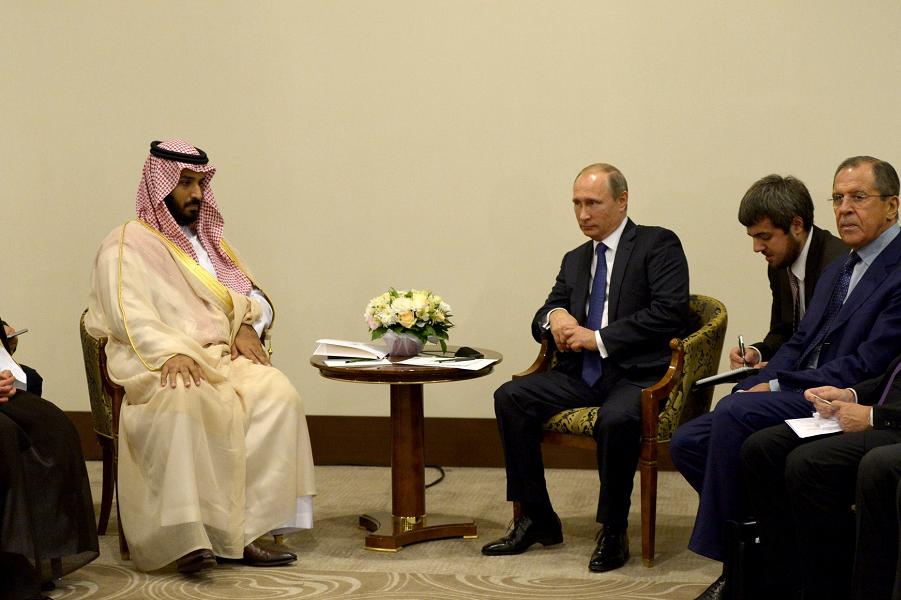 Путин и преемник наследного принца СА Мухаммад ибн Салман Аль Сауд, 11.10.15.png