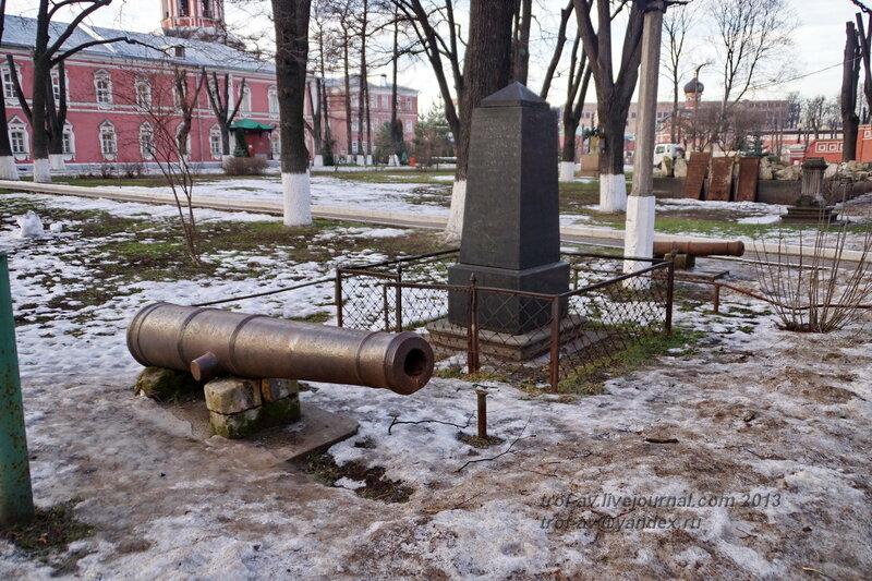 Некрополь Донского монастыря